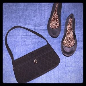 Vera Bradley black handbag